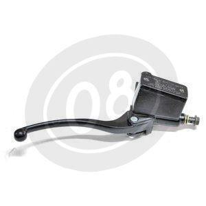 Pompa freno anteriore Nissin Replica 14mm serbatoio integrato angolato