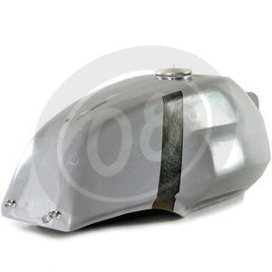 Fuel tank Moto Guzzi Serie Grossa long fiberglass - Pictures 10