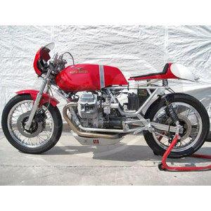Serbatoio benzina per Moto Guzzi Serie Grossa lungo - Foto 6