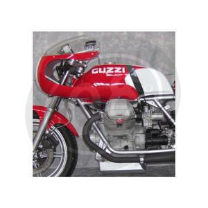 Fuel tank Moto Guzzi Serie Grossa long fiberglass - Pictures 4