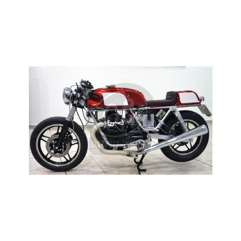 Serbatoio benzina per Moto Guzzi Serie Grossa Norton Manx Replica - Foto 2
