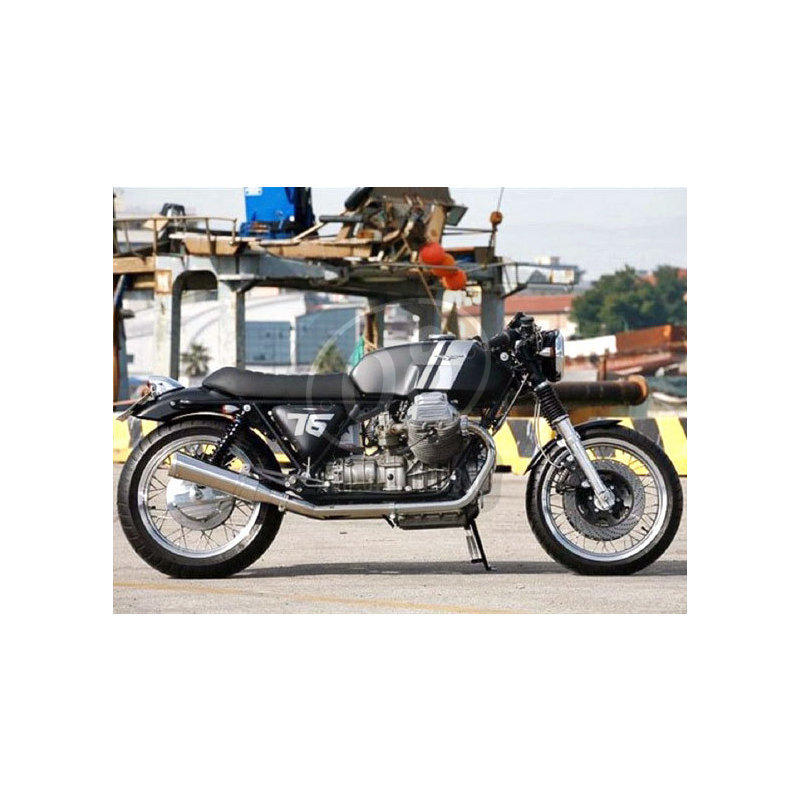Fuel tank Moto Guzzi Serie Grossa V 7 Sport Replica fiberglass - Pictures 4