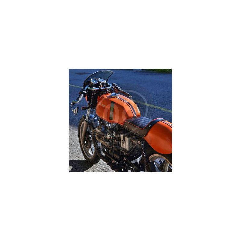 Fuel tank Moto Guzzi Serie Grossa V 7 Sport Replica fiberglass - Pictures 3