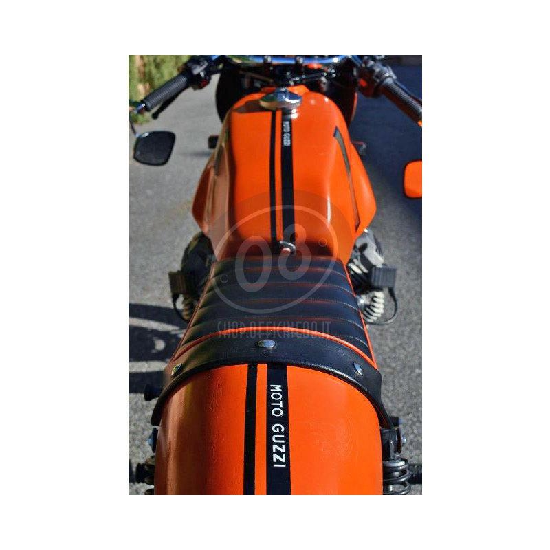 Fuel tank Moto Guzzi Serie Grossa V 7 Sport Replica fiberglass - Pictures 2
