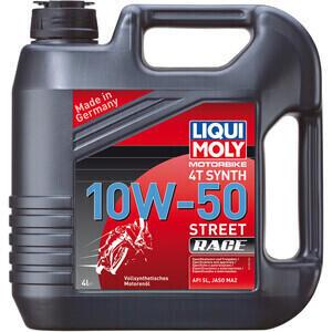 Olio motore 4T Liqui Moly 10W-50 Street Race 4lt