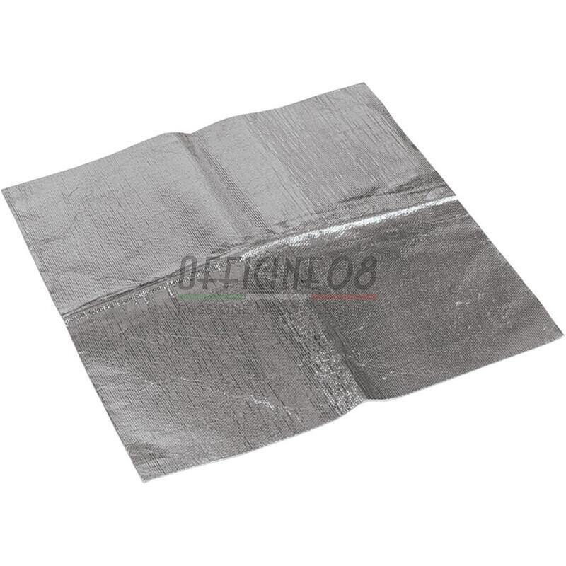 Exhaust heat protection steel 20x24cm