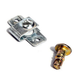 Quick release fairing fastener rivet
