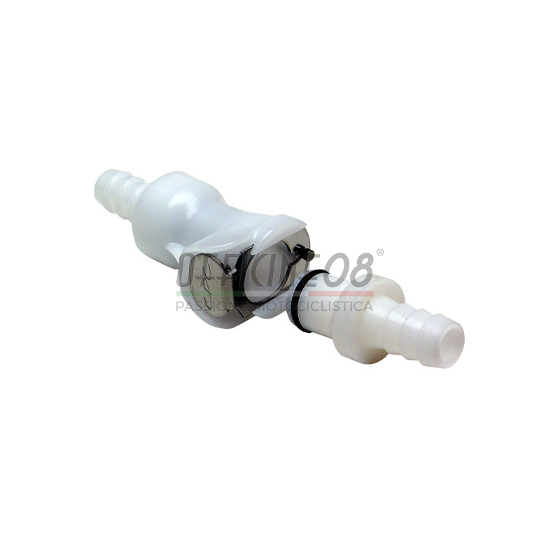 Fuel hose joint quick disconnect 8mm single valve