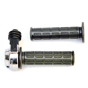 Throttle 22mm double-cable Tommaselli Daytona chrome
