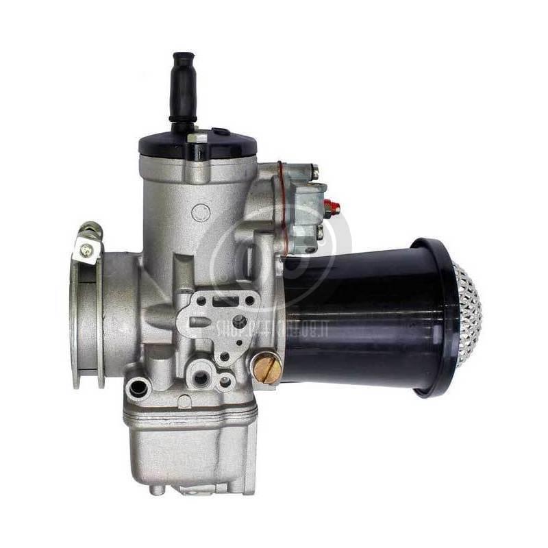 Carburatore Dell'Orto PHM 40 AD 4T con cornetto di aspirazione con rete - Foto 2