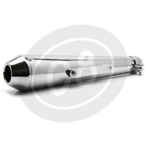 Exhaust muffler Megaton chrome - Pictures 4