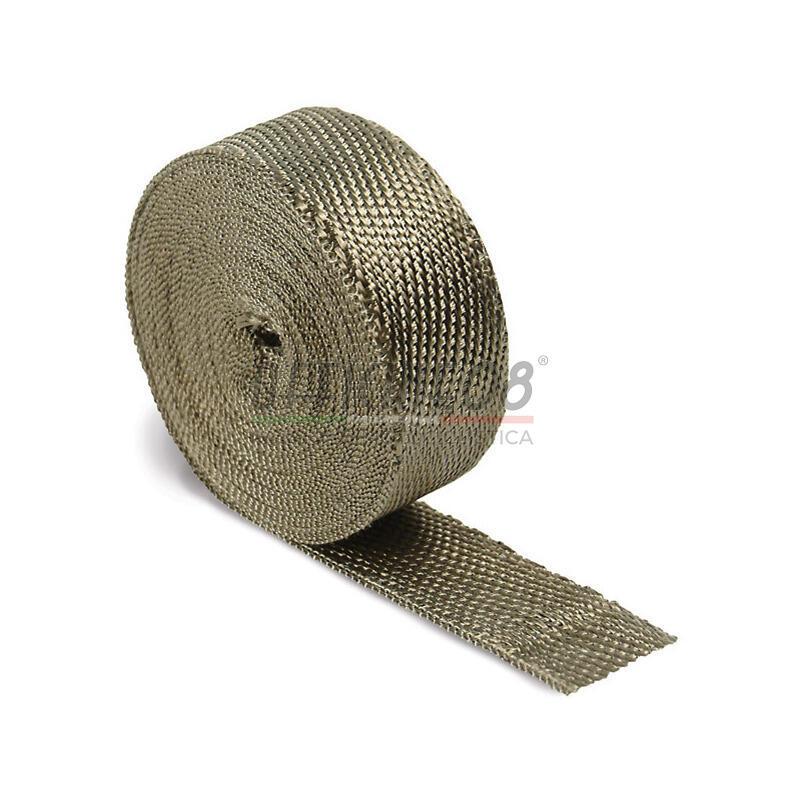 Benda termica collettori di scarico 822° 50mm 5mt bronzo