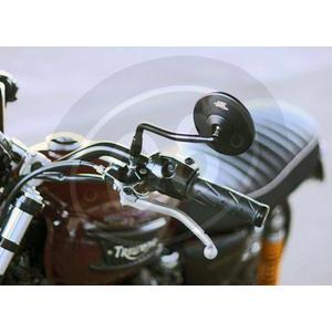Specchietto retrovisore LSL Clubman nero sinistro - Foto 2