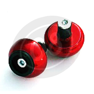 Bar-end weights LSL spheric 14mm red