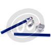 Coppia semimanubri 35mm Cafe Racer LSL grigio/blu