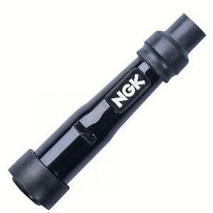 Cappuccio candela NGK SB05F dritto 14mm nero