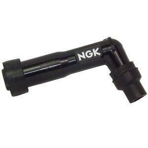 Cappuccio candela NGK XD05F 102° 12mm lungo nero
