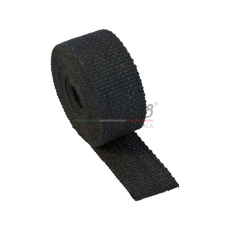 Benda termica collettori di scarico 416° 50mm 5mt nero