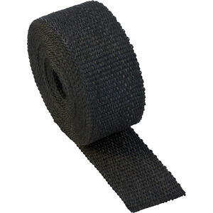 Exhaust pipe wrap 416° black 50mm 10mt