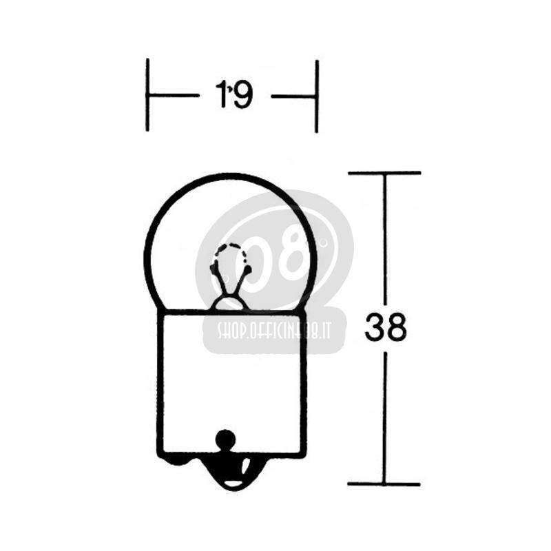 halogen bulb 12v ba15s