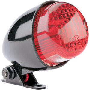 Halogen tail light Scrambler black