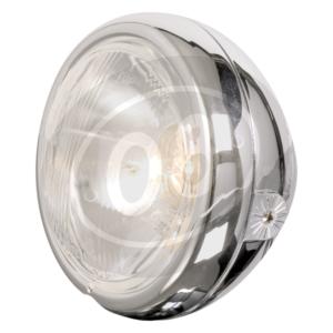 Halogen headlight 4.5'' Classic chrome