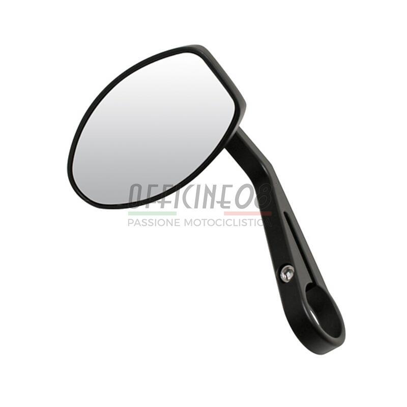 Specchietto retrovisore bar-end Modern Classic nero