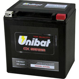 Battery Unibat CX30L 12V-30Ah