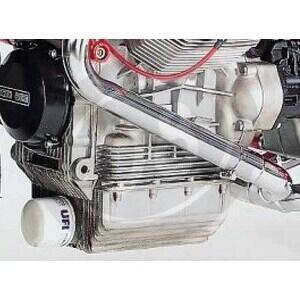 Coppa olio motore per Moto Guzzi Serie Grossa maggiorata filtro anteriore con oblò - Foto 4