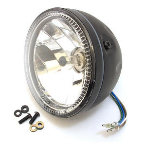 Led headlight 5.3/4'' Highsider Skyline black