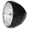 Halogen headlight 7'' Street black