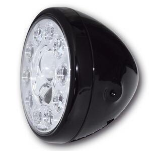 Faro anteriore 7'' Highsider Reno Type1 full led nero lucido