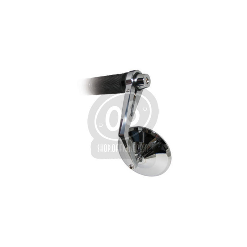Specchietto retrovisore bar-end Highsider Montana cromo - Foto 8