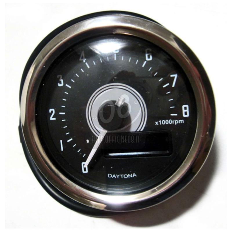 Contagiri elettronico Daytona60 8K lucido - Foto 4