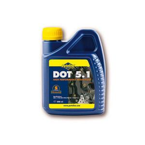Brake & clutch fluid Putoline DOT 5.1 0.5lt