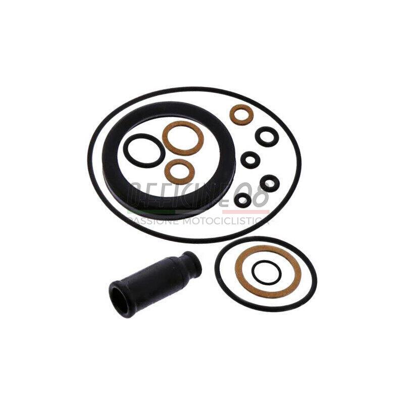 Kit Guarnizioni In Alluminio Pressofuso Adatto Kit Carburatore con Strumento di Regolazione del Filtro DellAria per Husqvarna 51 50 55 Accessorio per Motosega
