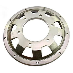 ABM brake disc spare contour flange offset 26.5mm grey