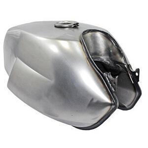 Fuel tank Moto Guzzi V 7 Sport OEM Replica steel front opening