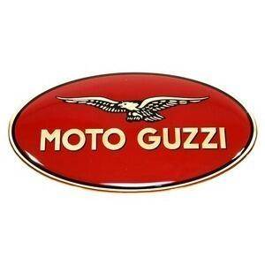 Sticker resined Moto Guzzi 83x45mm right side