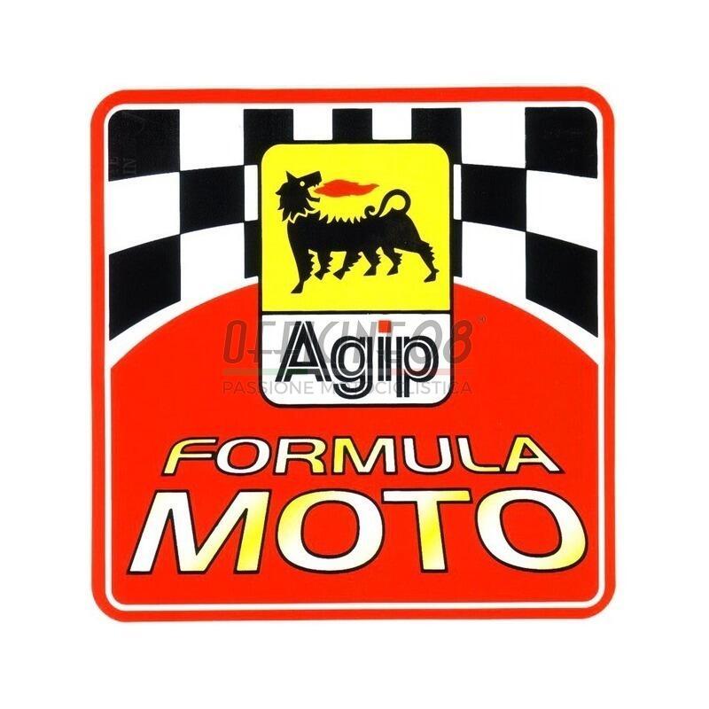 Adesivo Agip Formula Moto 100x100mm