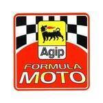 Adesivo Agip Formula Moto