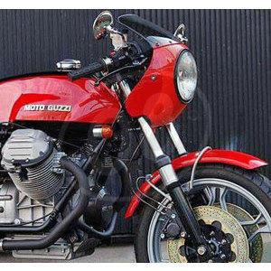 Carena per Moto Guzzi Serie Grossa cupolino Replica originale forato completo - Foto 5