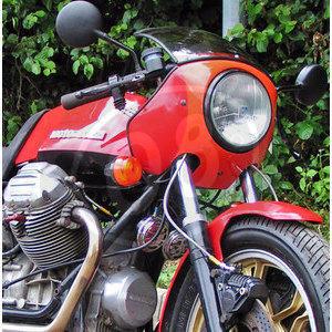 Carena per Moto Guzzi Serie Grossa cupolino Replica originale forato completo - Foto 3