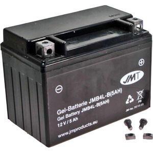 Batteria di accensione JMT YB4L-B gel 12V-5Ah
