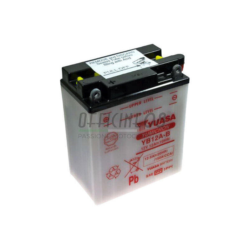 Motobatt Battery For Honda XRV 750 L Africa Twin 1990