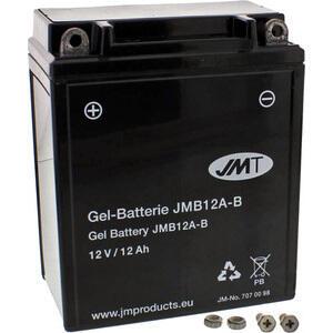 Batteria di accensione JMT YB12A-B gel 12V-12Ah