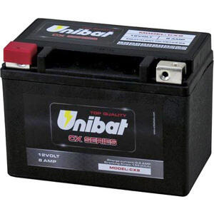 Battery Unibat CX9 12V-8Ah