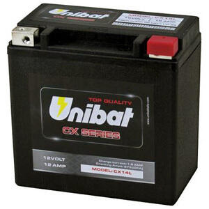 Batteria di accensione Unibat CX14L 12V-12Ah