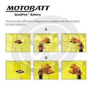 Batteria di accensione MotoBatt MBTX30U 12V-32Ah - Foto 2
