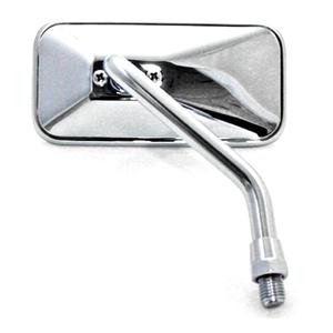Specchietto retrovisore Bobber corto cromo destro